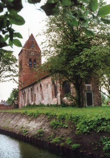 Gebouw omstreeks 1100 (als tufstenen gebouw   Godlinze   Groningen