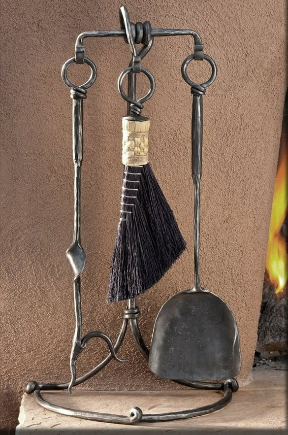 3 Tool Fireplace Set by Christopher Thomson Ironworks