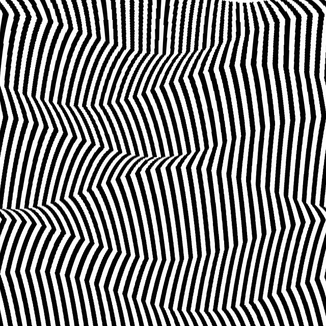 All sizes   OP-art montain and valley, via Flickr.