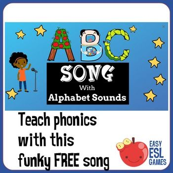 ABC Song with Phonics Sandwiched between 2 verses of the A
