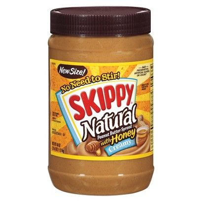 Skippy Natural Peanut Butter Spread with Honey 40 oz