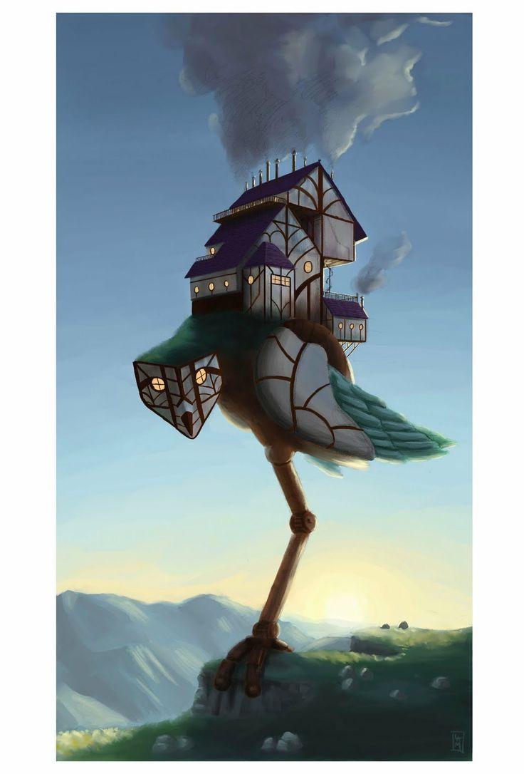 Baba Yaga House Concept Fairy And Folk Tales Russia Pinterest Baba Yaga Und Haus