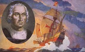 Cristóbal Colón, navegante que al servicio de los reyes de Castilla y Aragón, en su pretendido camino hacia las Indias con tres carabelas, llegó a América en 1492. Murió años después sin saber que había descubierto un nuevo mundo.