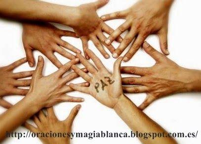 Oracion para pedir PAZ MUNDIAL y ESPIRITUAL