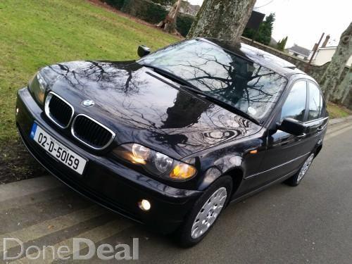 BMW 318i 2002 BLACK