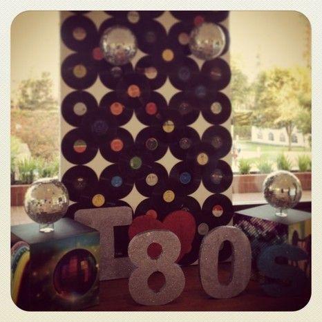 Photocall a os 70 pinterest blog for Decoracion 70 80