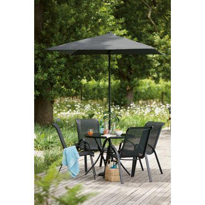andorra 4 seater garden furniture set at homebase be. Black Bedroom Furniture Sets. Home Design Ideas