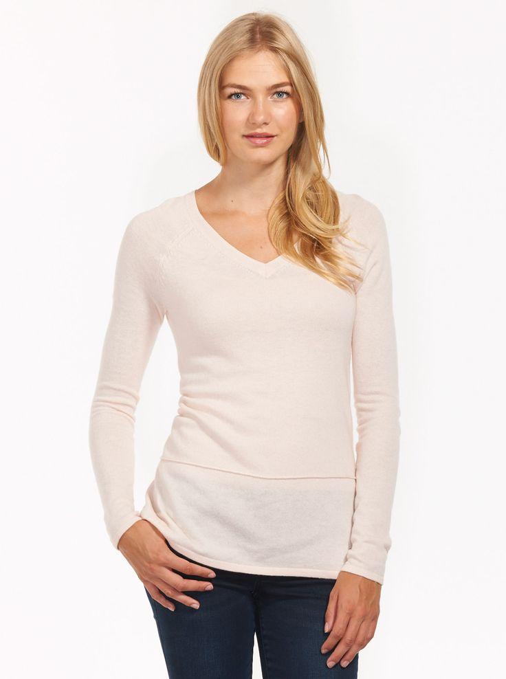 Image for V Neck Side Split Knit from Just Jeans