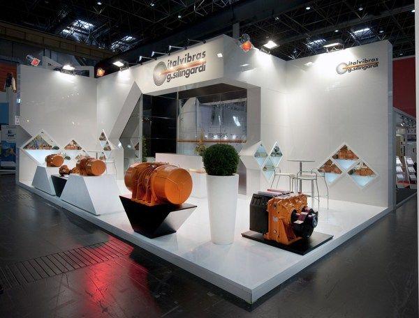 Exhibition Stand Behance : Italvibras gifa düsseldorf on behance exhibition design