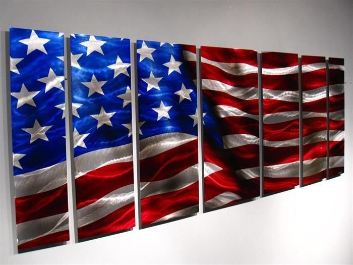 25 best ideas about original american flag on pinterest for Painted american flag wall art