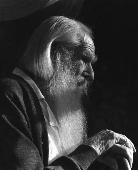 Her Father After Ninety, 1939 by Imogen Cunningham