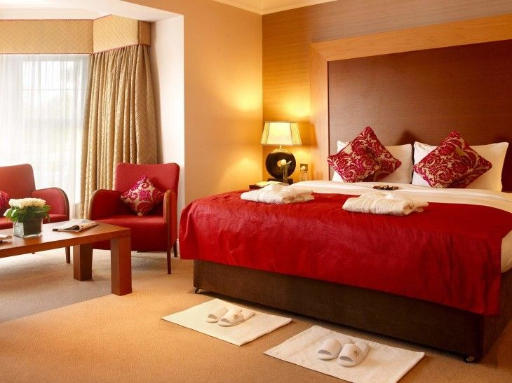Lovable Romantic Red Bedroom Design - pictures, photos, images