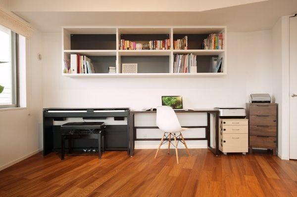 book shelf, Grey background
