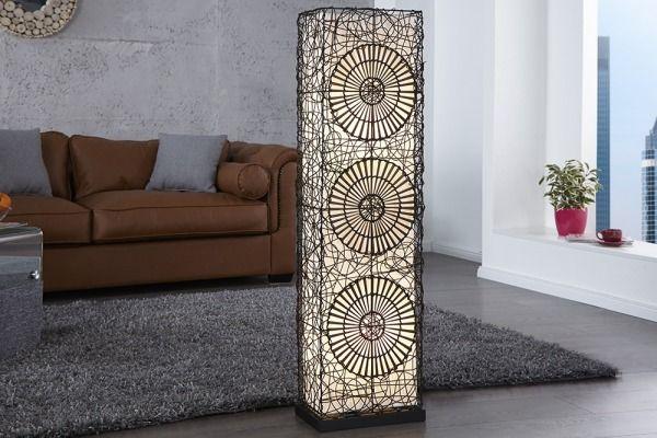 Lampa Podłogowa Manual Rattan