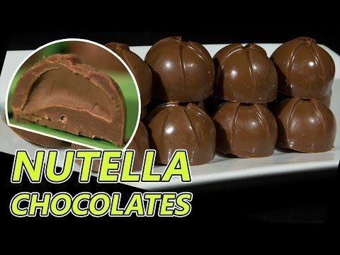Nutella Filled Milk Chocolates VIDEO Recipe http://youtu.be/K2LpzMk27_U  I'll show you how to make really delicious milk chocolates filled with Nutella.  Please subscribe, like and share if you can, I do appreciate it.  My Facebook Page: http://www.facebook.com/BakeLikeAPro My Twitter: http://twitter.com/BakeLikeAPro http://instagram.com/bakelikeapro