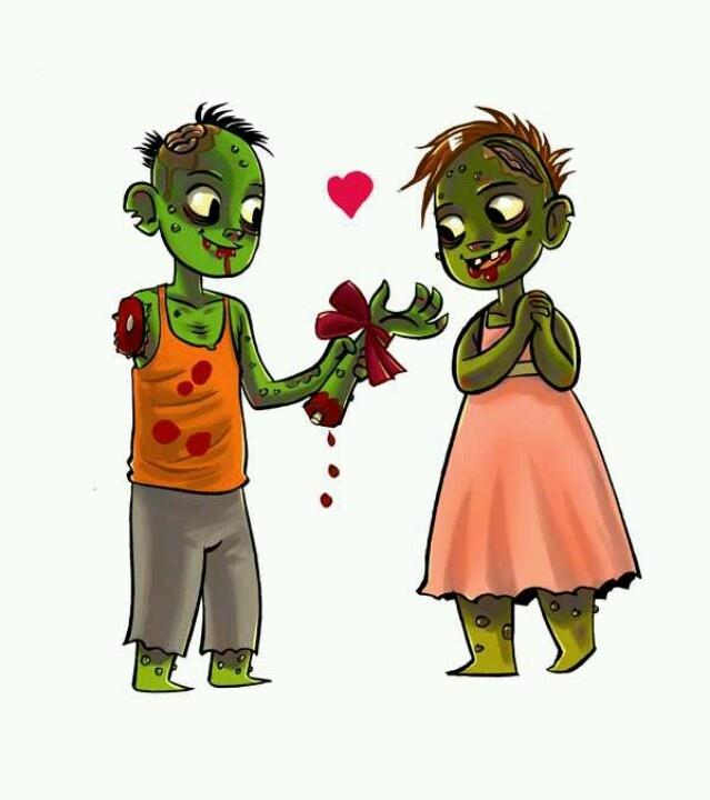 24 mejores imgenes de Zombie love en Pinterest  Enamorado Arte