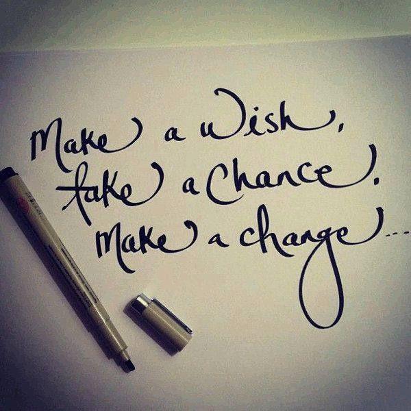 Make a wish. Take a chance. Make a change.. #Alagappa #Institute #of #Technology.