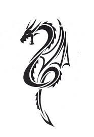 Image result for small dragon tattoo for girls