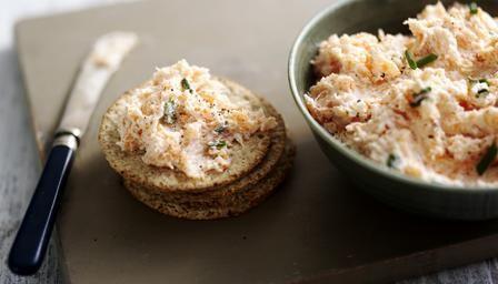 Serve this smoked salmon pâté on oatcakes to make elegant canapés