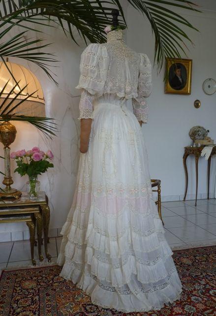 Romantic Tea Gown, ca. 1899