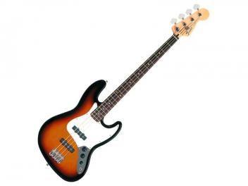 Contrabaixo Elétrico 4 Cordas Fender - Standard Jazz Bass - Sunburst