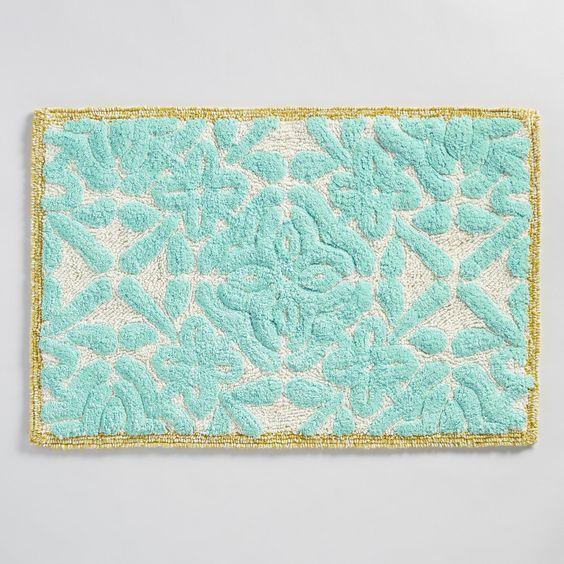 Best Images About Bathroom Art Decorating Ideas On Pinterest - Teal bath mat for bathroom decorating ideas