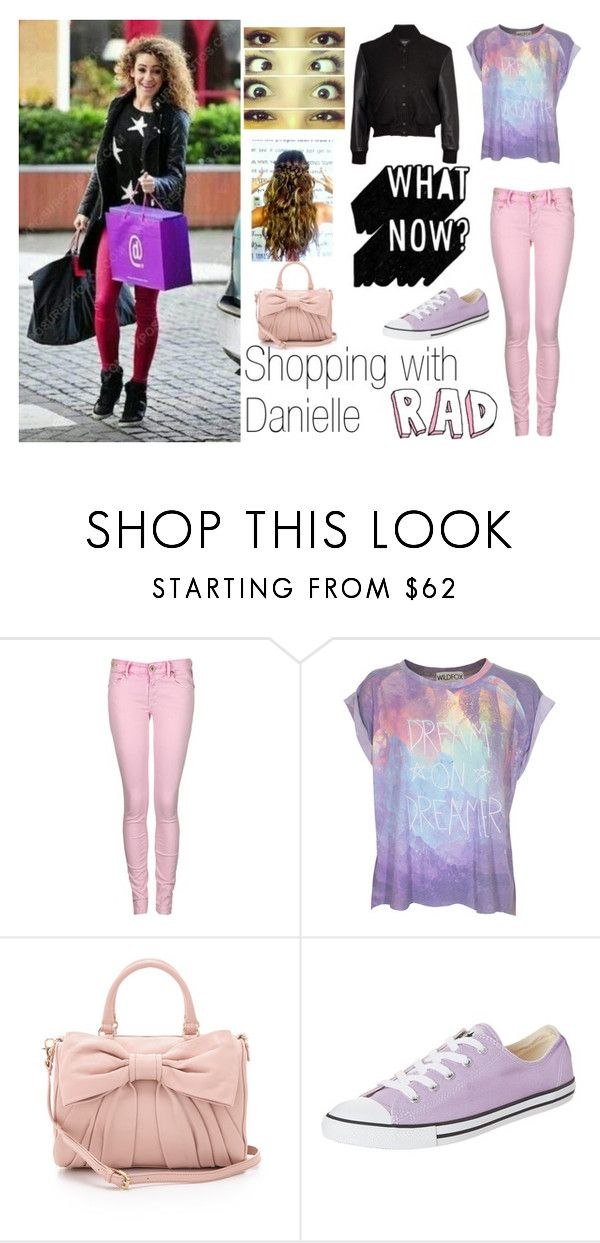 """Shopping with Danielle"" by kennedey-lynn-freeman ❤ liked on Polyvore featuring Replay, Wildfox, RED Valentino, Converse and Simone Perele"