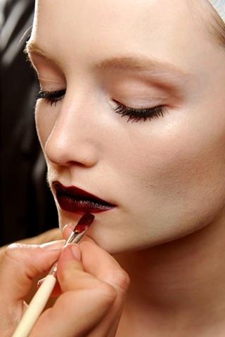 wine / bordeaux / black cherry lip
