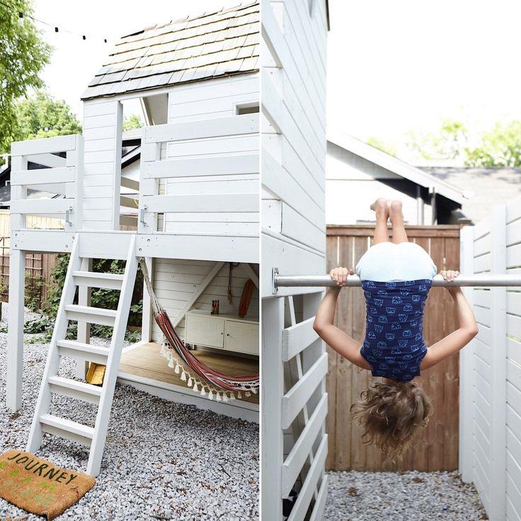Best Outdoor Living Space 2018: Kristin Barlowe-Clauer's Garden Birdhouse for Kids Big & Small