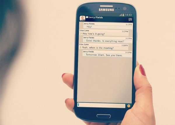 BBM For Samsung Galaxy Will SOON Be Present In Africa