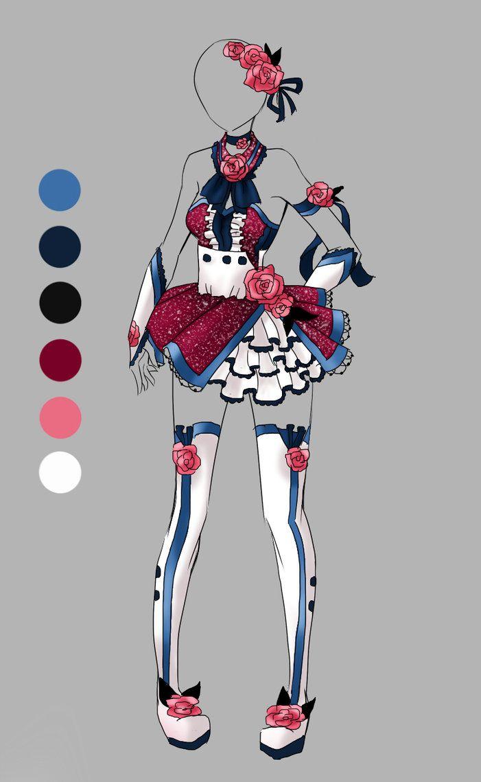 Custom Outfit 1 by Artemis-adopties on DeviantArt