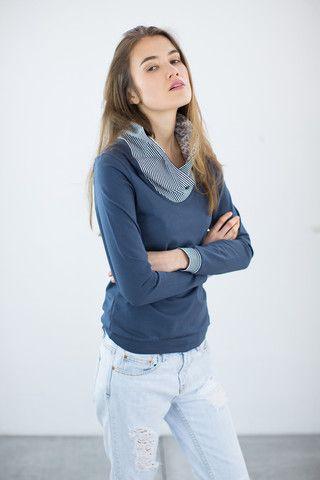 Sweatshirt Ruby Blue