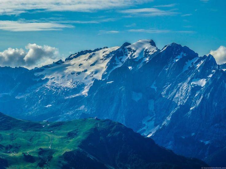 Marmolada (3343m) - höchster Berg der Dolomiten