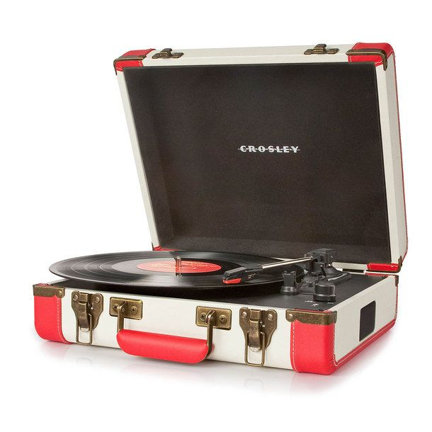 Executive USB Turntable Red | Crosley Radio