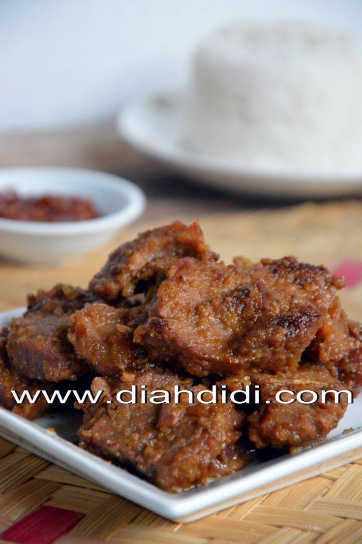Diah Didi's Kitchen: Dendeng Basah..Yummy..! ^^