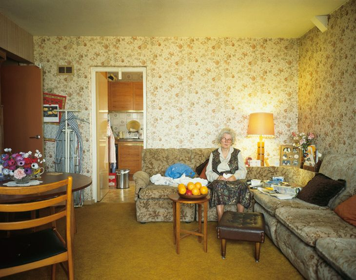Tom Hunter - Holly Street Tower Block Project Series: Residents of Cedar Court