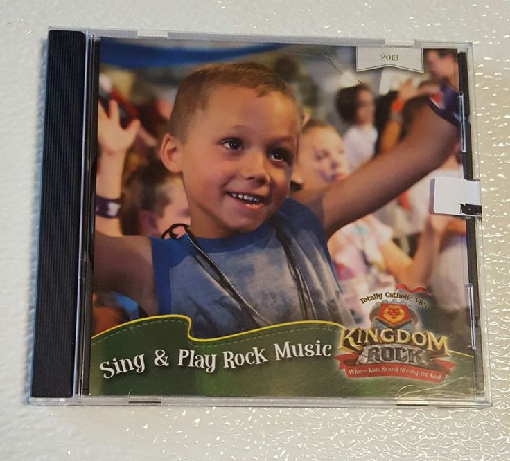 CD: Sing and Play Rock Music Kingdom Totally Catholic VBS  #RockSingAlong