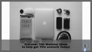 100 webinar ideas