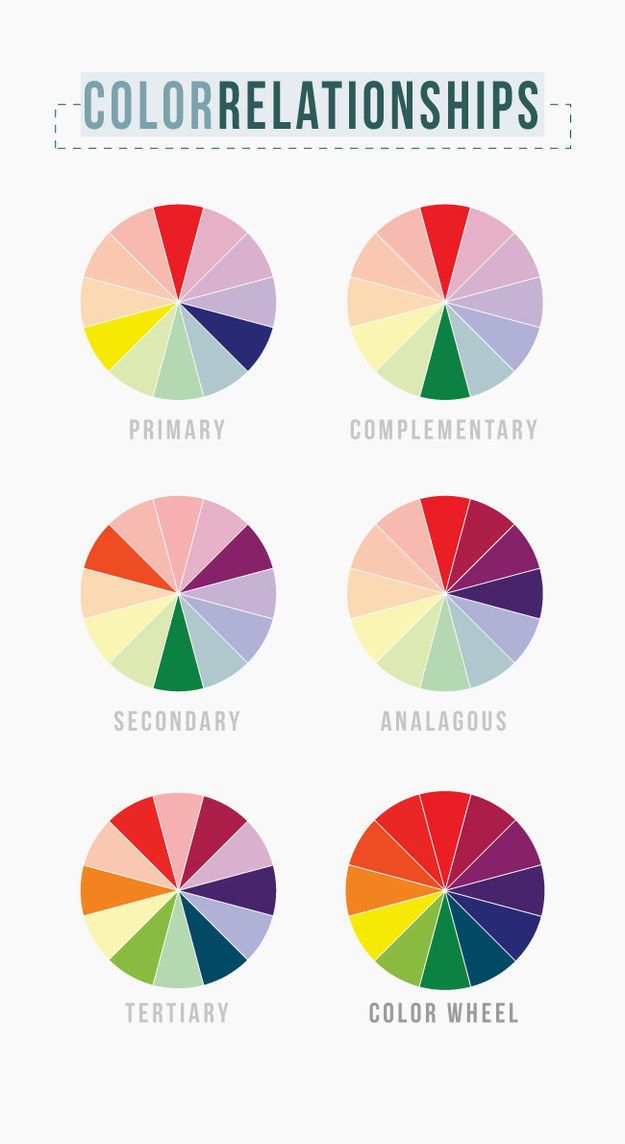 Create your own palette from scratch by looking at a color wheel.