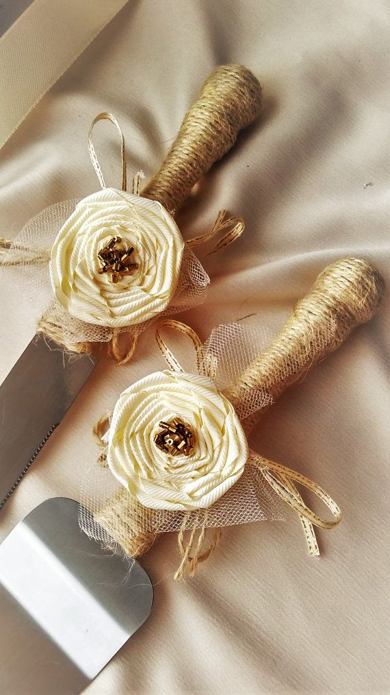 Ivory Rustic Chic Rustic Wedding Wedding by WeddingArtGallery
