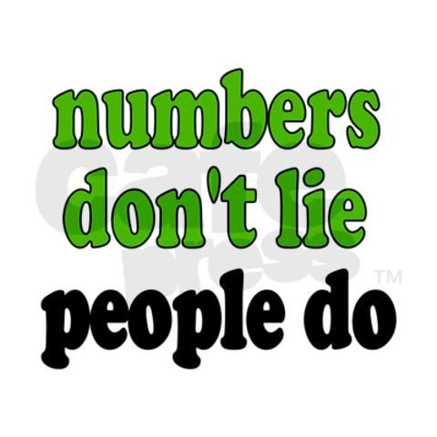 Accounting humor - I say this so many times.  Numbers don't talk back, people do.  Get a job in accounting.