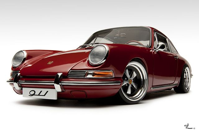 Porsche 911 1964 by Zuugnap, via Flickr I'm not too keen on this being so low undriveable and that's what Porsche are for driving