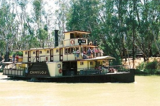 Echuca : I went on a paddlesteamer