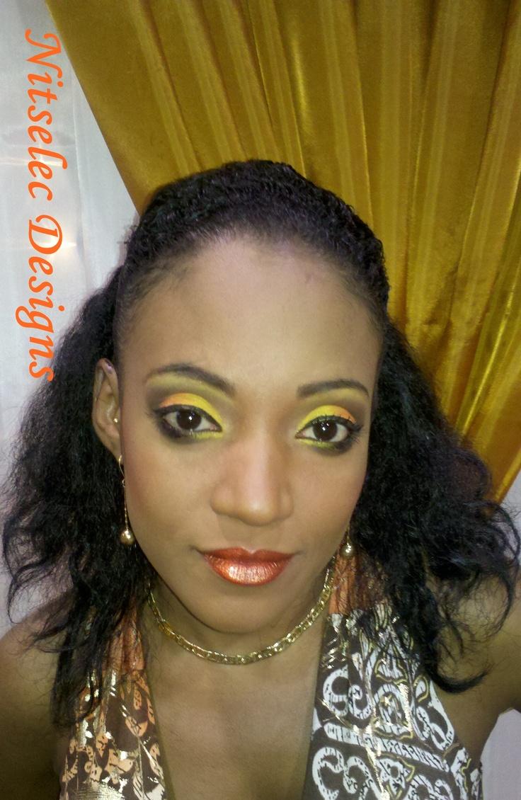 Yellow look