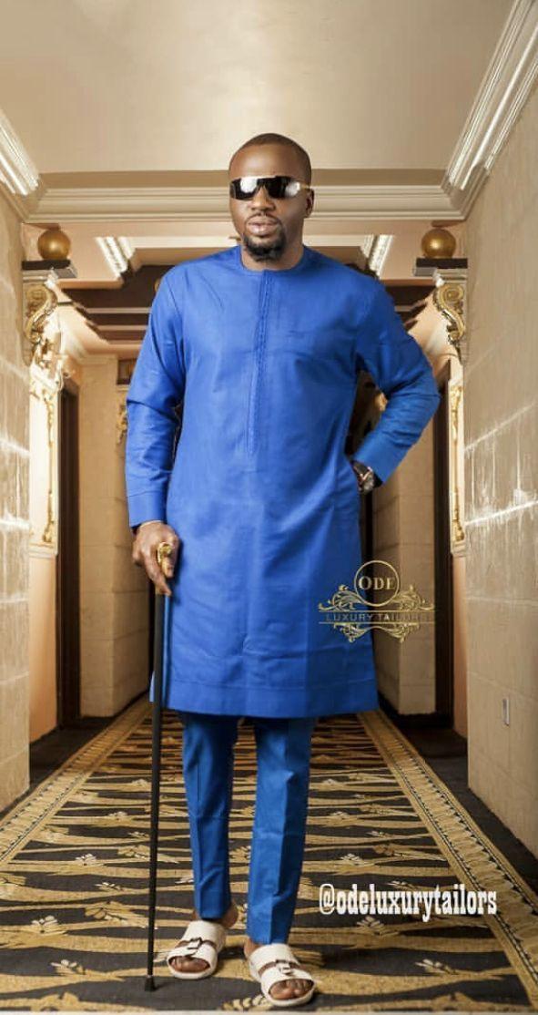 6e068f371 Latest Senator Designs For Naija Men   Ankara Shirt Styles   African men  fashion, African attire for men, African men