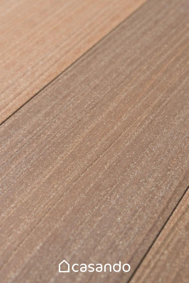 Hervorragend HORI Terrassendielen Komplettset WPC Sylt braun 16 x 193 mm BP75