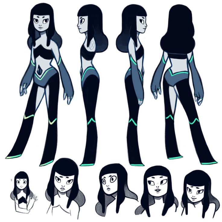 IIIIT'S MY GEMSONA, BLACK SAPPHIRE!Her ability to emotionally relate to others is probably her strongest point, she's great at understanding where others are coming from and feeling for them. She's also got a hella intuition, which is most easily seen in her ability to anticipate an opponent's moves. Combine that intuition and aim with her mismatched gaggle of throwing knives and she can turn out to be pretty deadly on occasion! She has a tendency to overthink, however, so she's trying to…