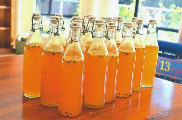 Preserving/bottling/canning: Passionfruit cordial