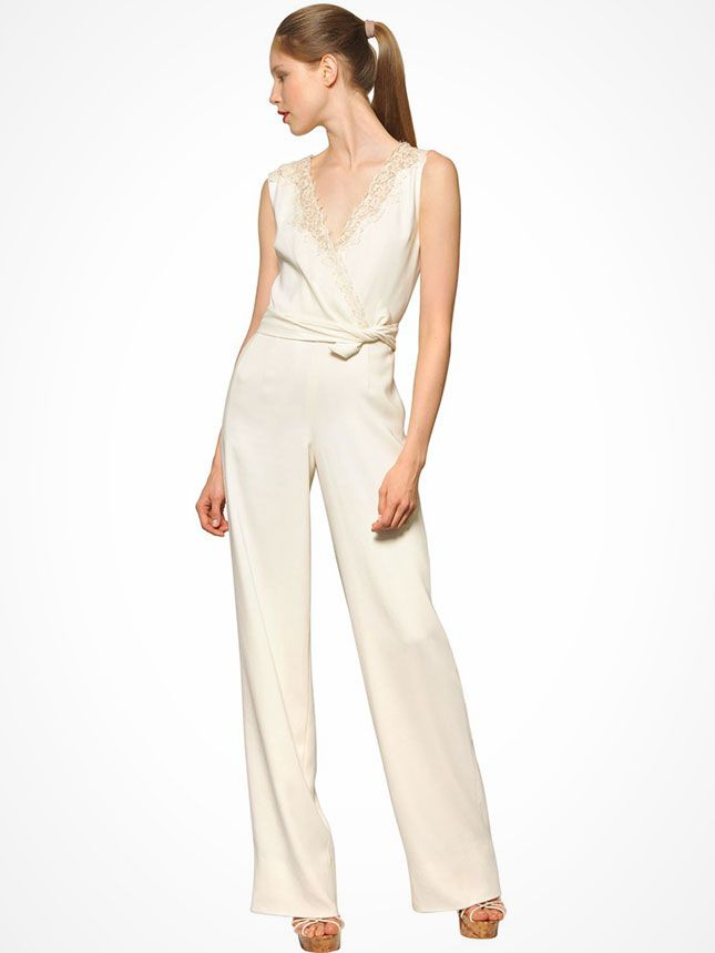 beyoncs bridal jumpsuit 12 wedding worthy one pieces