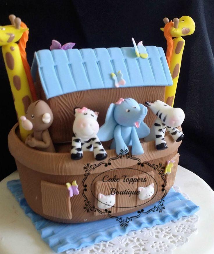 topper baby shower cake topper noah 39 s arks decoration noah 39 s ark